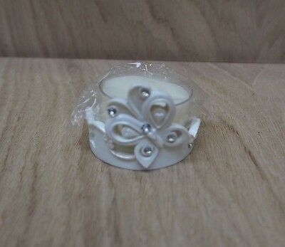Set of 12 White butterfly wedding christening communion favours. NEW
