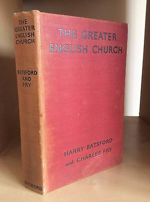 THE GREATER ENGLISH CHURCHES HISTORY ARCHITECTURE GUIDE Batsford Fry Illustrated