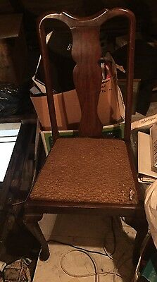 4 Old 1930/40 S  Dining Chairs
