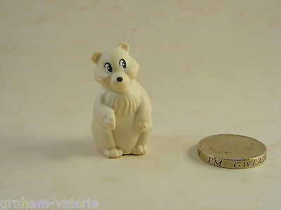 "Miniature Bear Ornament Figure 1 1/2"" tall"