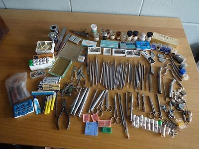 Large Collection Of Vintage Dentistry Dental Instruments Tools And Equipment