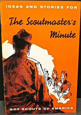 Boy Scouts Of America The Scoutmaster's Minute Ideas And Stories