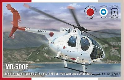 SPECIAL HOBBY 72346 MD-500E Helicopter in 1:72