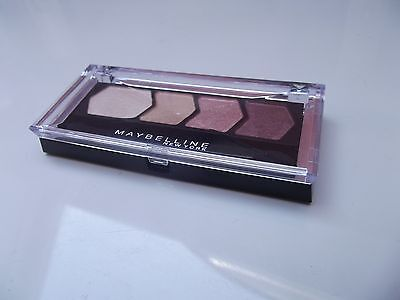 Maybelline Eyestudio Diamond Glow Quad Eyeshadow 20 Coral Drama  New Sealed