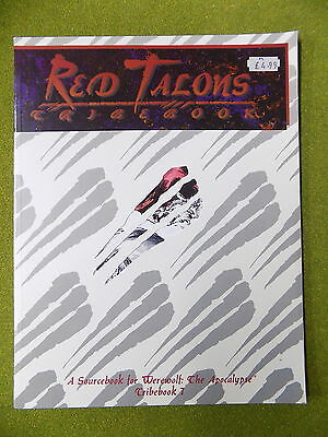 RED TALONS Tribebook 7 for Werewolf the Apocalypse White Wolf 13990
