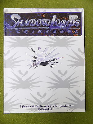 SHADOW LORDS Tribebook 8 for Werewolf the Apocalypse White Wolf 13982