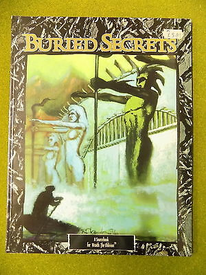 BURIED SECRETS Sourcebook for Wraith the Oblivion White Wolf 13973