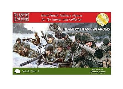 Plastic Soldier Company BNIB 1/72nd US Heavy Weapons WW2020007