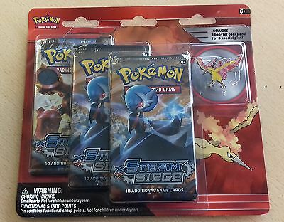 Pokemon TCG - Moltres - Collectors Pins 3-Pack