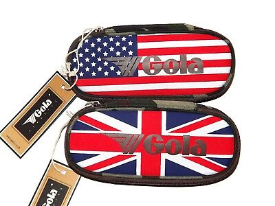 Gola Case Carrell Camo Cub 104 E 105 English Flag E Americana Penholder
