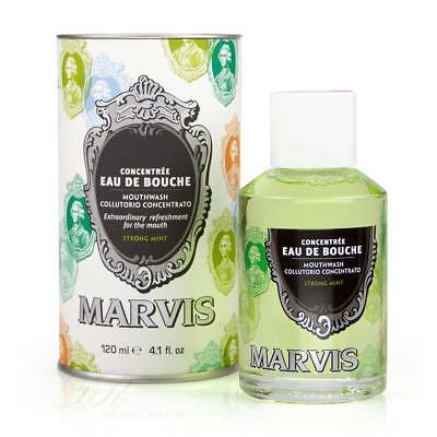MARVIS Mundwasser Strong Mint 120ml