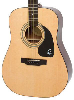 Epiphone DR-100 Dreadnought Acoustic Guitar, Natural (NEW)
