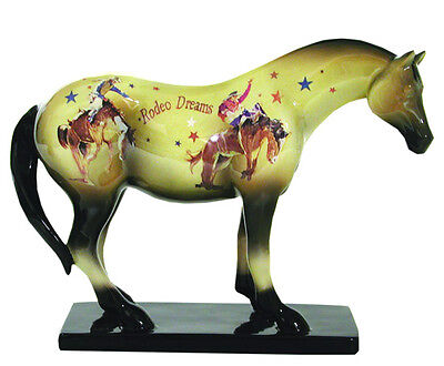 Trail of Painted Ponies RODEO DREAMS FIGURINE Retired, New in Box, 1st Edition