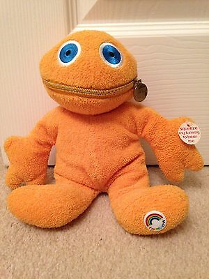 Collectible Zippy From Rainbow With Tags - Talking Soft Toy- 1972 Vintage/ Retro