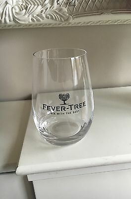 1 X Fever Tree Collectable Branded Glass-A Must Have For All Gin Enthusiasts!