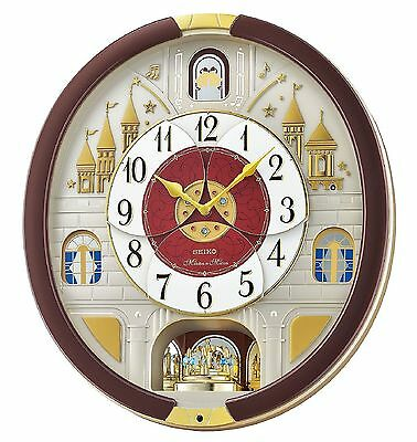 Seiko Melodies in Motion Clock Musical Christmas Wall Clock Collector - NEW