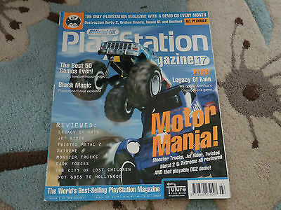 Playstation Official Play Station Magazine Issue 17 March 1997 Jet Rider