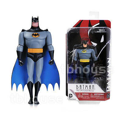 "6"" BATMAN action figure THE ANIMATED SERIES blue batsuit DC COLLECTIBLES 2015 13"