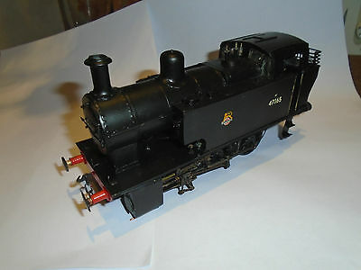 O Gauge 7Mm Scale Scratchbuilt Lms Br 0-6-0T Dock Tank Shunter Br Black 47165