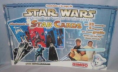 STORE DISPLAY poster Trading Cards Mexican BIMBO '02 vintage - Star Wars
