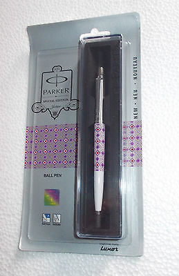 PARKER JOTTER Ball Pen ~ Special Edition : Diamond ~ Purple * Free Shipping