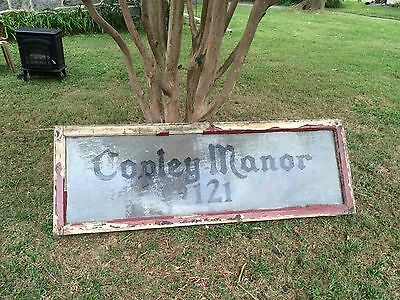Vintage 40's/50's Large 121 Copley Manor Transom Light Window,Philadelphia