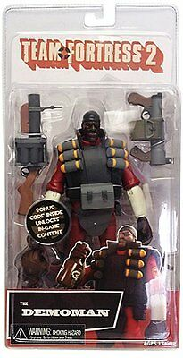 """TEAM FORTRESS 2 - 7"""" Series 1 RED Demoman Action Figure (NECA) #NEW"""