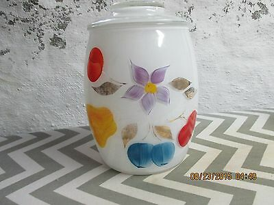 Gay Fad white cracker or canister jar