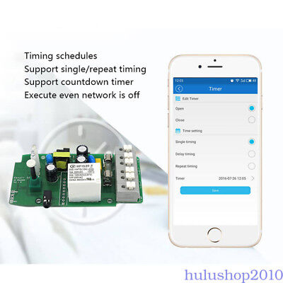 10A/16A Smart Home WiFi Temperature Humidity Thermostat Module Switch Sonoff APP
