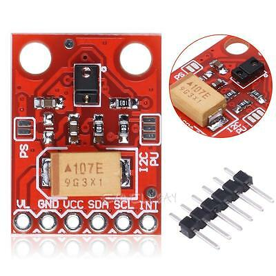 RGB and Gesture Proximity Sensor Module I2C Breakout for Arduino APDS-9960 Red