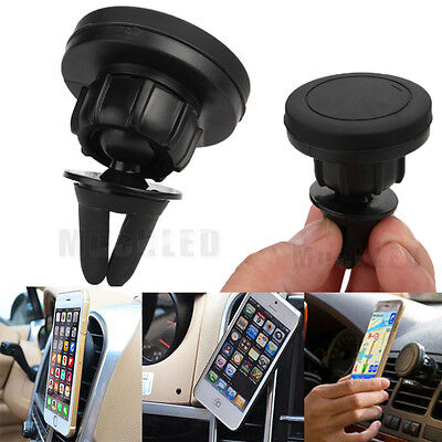 New Car Mount Holder Magnetic Air Vent Cradle Grip Magic Mobile Phone Universal