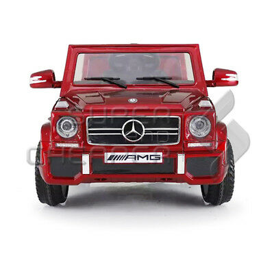 Licensed Mercedes Benz G65 Kids Ride on Car With 2.4Ghz remote controller red