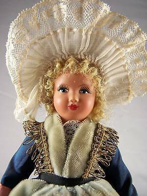 Vintage French Celluloid Doll Boulogne Fisherwoman DLL
