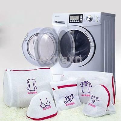 New Mesh Laundry Bag Clothes Protector Washing Bra Lingerie Wash Bags CA