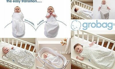 Grobag Swaddle Baby Girl Boy Newborn-3 Months Cosy Or Light 2.25kgs-5.45kgs