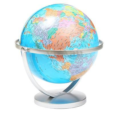 New Educational Geography World Globe Earth Ocean Atlas Map With Rotating Stand