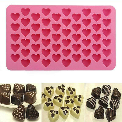 New Heart Mold Maker Mould Freeze Bar Jelly Pudding Chocolate Silicone Ice Cube