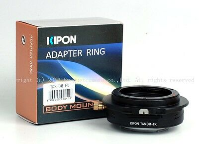 NEW Kipon Tilt & Shift adapter for OM mount lens to Fuji X-PRO1/X-E1/X-E2 latest