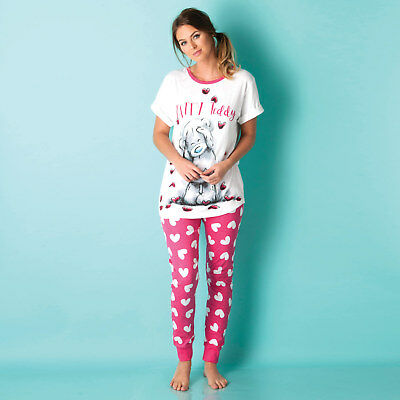 Womens Me To You Tatty Teddy Pyjamas In Pink From Get The Label