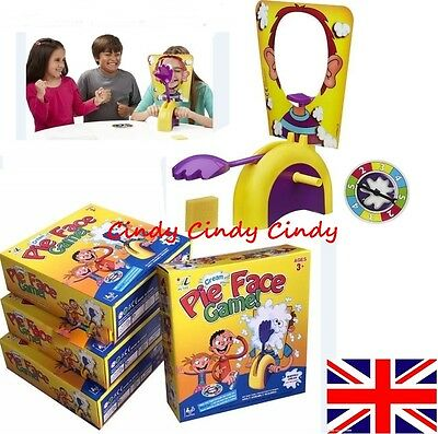 Pie Face Game Fun Filled Suspense Edition Kids Boxed Toy Family Children's Gift