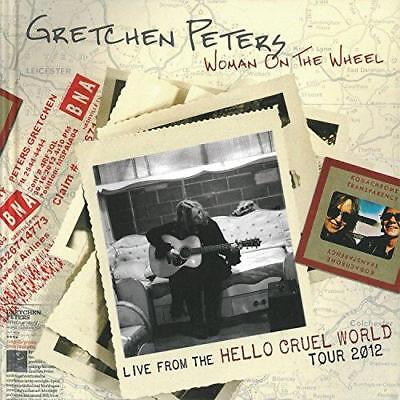 Gretchen Peters - Woman On The Wheel: Live From The Hello Crue (NEW CD+DVD+BOOK)