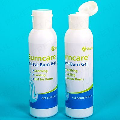 2 x HEAT BURN SKIN GEL 118ml Pain Cooling Relief Medical Soothing Ointment Care
