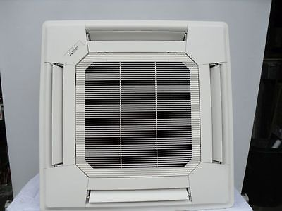 Mitsubishi Ceiling Cassette 7.1 Kw Power Inverter Fully Fitted Price - Air Con