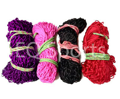 "FREE SHIPPING ECO Small Hole Haylage Haynet 40"", 5 Colours, Packs  1,2,3,4,5, 6"