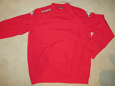 KAPPA Rugby Training Top Red  - M