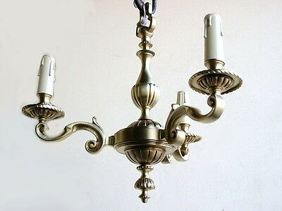 Nice French Gilded Bronze Chandelier - 6238