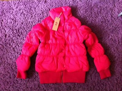 French Connection Girls Fuchsia Pink Jacket Coat 10-11 Years