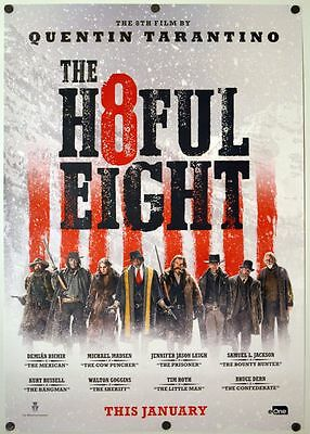 H8ful Eight ( Hateful ) - original DS movie poster - INTL D/S