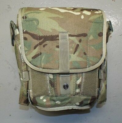 MTP FIELD PACK RESPIRATOR CASE BAG - British Army Issue , Brand new