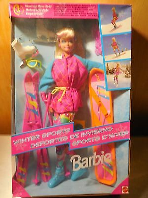 "Barbie ""wintersports"" Doll From 1994"